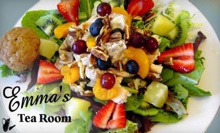 $25 Groupon to Emma's Tea Room - Emma's Tea Room in Huntsville
