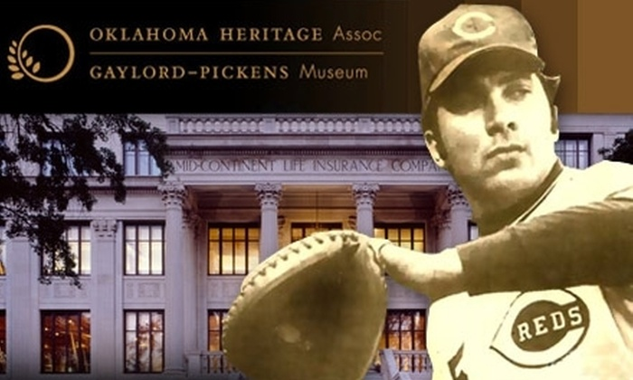 Gaylord-Pickens Oklahoma Heritage Museum - Central Oklahoma City: $6 for Two Adult Admission Passes to the Gaylord-Pickens Oklahoma Heritage Museum