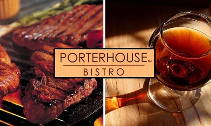 Porterhouse Bistro - Beverly Hills: $30 for $60 Worth of Steakhouse Fare and Drinks at Porterhouse Bistro