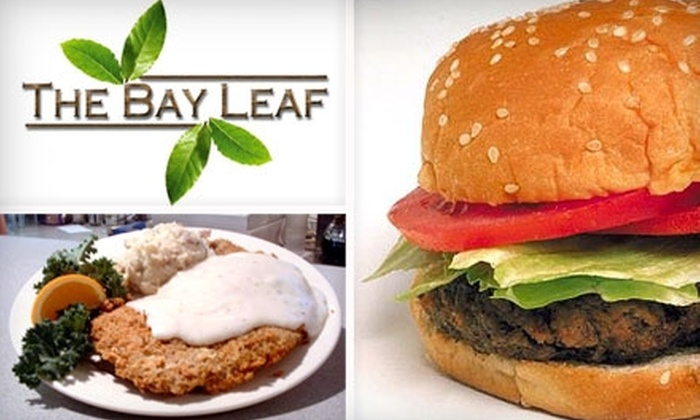 The Bay Leaf - College Hill: $10 for $20 Worth of Eclectic American Fare and Drinks at The Bay Leaf