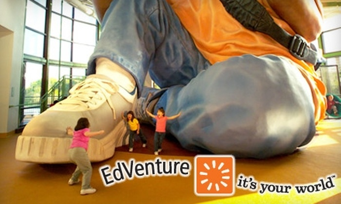 EdVenture Childrens Museum - The Congaree Vista: $9 for Two General Admission Tickets (Up to $19 Value) or $40 for a One-Year Weekday Admission Membership ($80 Value) at EdVenture Children's Museum