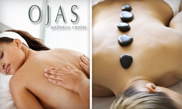 OJAS Wellness Center - Multiple Locations: $47 for a One-Hour Body in Bliss Massage at Ojas Wellness Center ($95 Value)