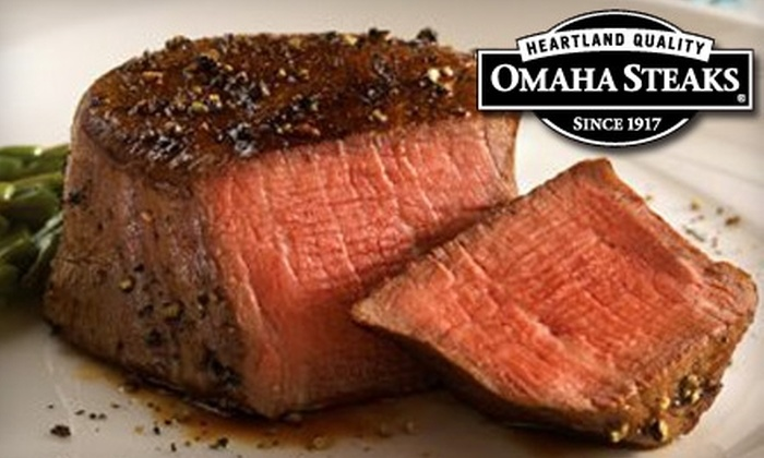 Omaha Steaks - Multiple Locations: $10 for $20 Worth of Steaks and More at Omaha Steaks