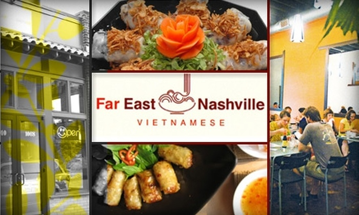 Far East Nashville - Nashville: $20 for $40 Worth of Authentic Vietnamese Fare and Drinks at Far East Nashville