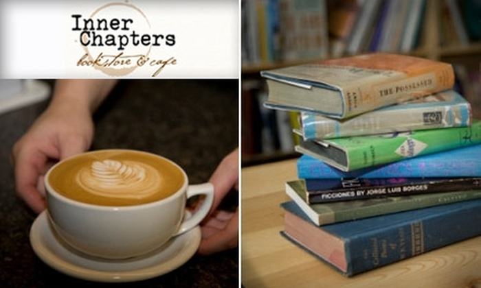 Inner Chapters Bookstore & Cafe  - South-Lake Union: $10 for $20 Worth of Books, Drinks, and Sandwiches at Inner Chapters Bookstore & Cafe