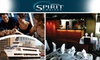 Baltimore Spirit Cruises - Otterbein: $53 Ticket to a Baltimore Spirit Dinner Cruise ($89 Value). Buy Here for Saturday, December 19. Other Prices and Dates Below.