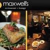 Half Off at Maxwell's