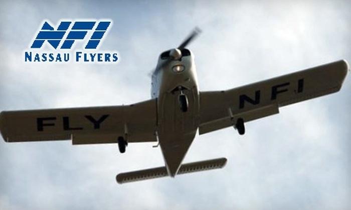 Nassau Flyers - East Farmingdale: $199 for a New York City Adventure Flight from Nassau Flyers ($400 Value)
