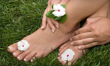 30-Minute Lavender Manicure and 60-Minute Sweet Lemon Pedicure (an $86 value) - Elysian Fields Day Spa in Whitby