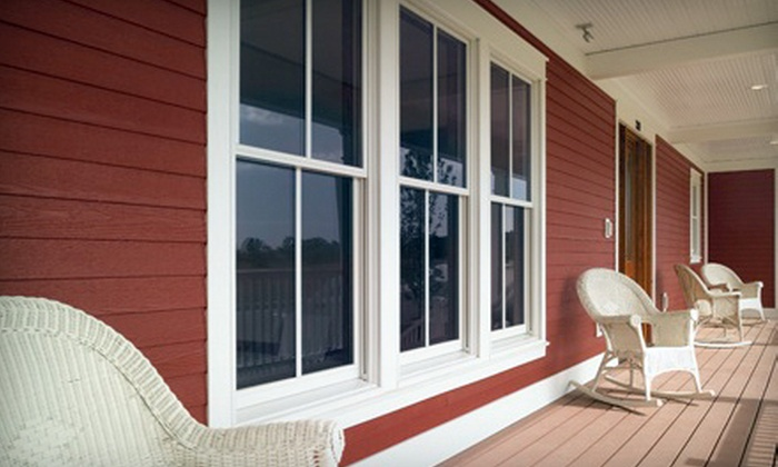 American Home Renewal - Downtown: $345 for a Single-Hung Milgard Style Line Window and Installation from American Home Renewal (Up to $690 Value)