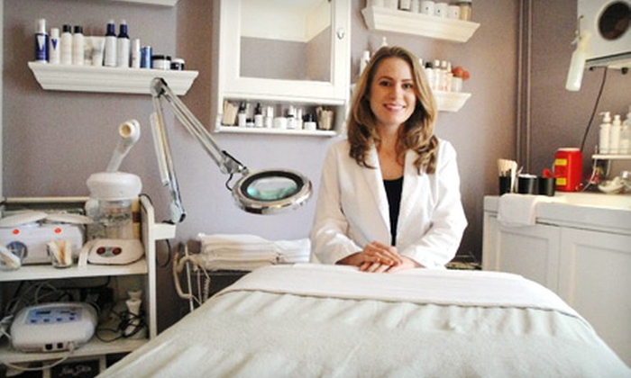 The Skin Studio - West Riverside: Custom Therapeutic Massage or Custom Skincare-and-Massage Package at The Skin Studio