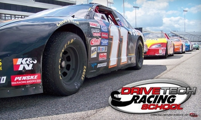 DriveTech Racing School - Indian Springs: $149 to Drive 15 Laps in a Racecar ($299 Value) or $29 for a Four-Lap Ride-Along ($59 Value) at DriveTech Racing School in New Smyrna Beach