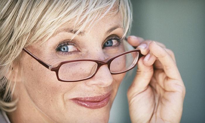 Diabetic Eye Centers of America, Inc. - Lyons: $59 for an Eye Exam Plus $200 Toward Eyeglasses at Diabetic Eye Centers of America, Inc. in La Grange ($100 Value)