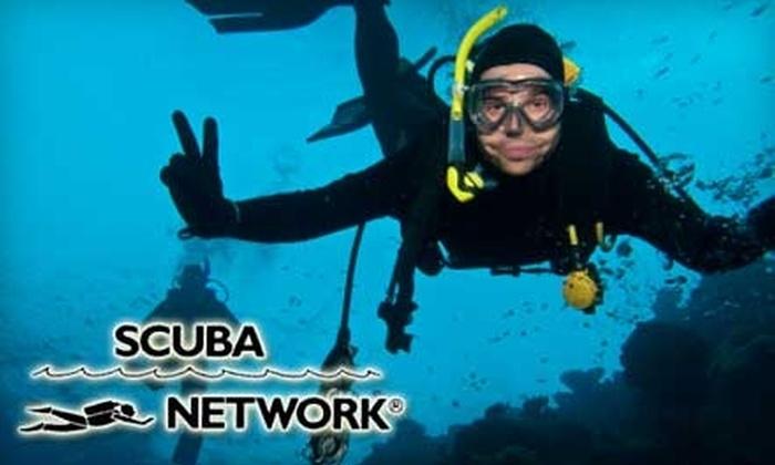 Scuba Network - New York City: $25 for a Discover Scuba Class at Scuba Network ($50 Value)
