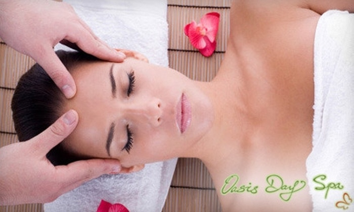 Oasis Day Spa - Central Richmond: $50 for a 90-Minute LED Light with Vitamin C Facial at Oasis Day Spa