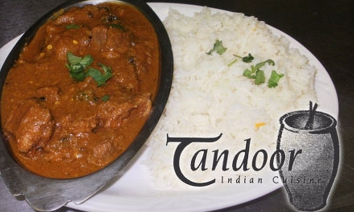 Tandoor Indian Cuisine - Lincoln: $10 for $20 Worth of Fresh, Authentic Cuisine and Drinks at Tandoor Indian Cuisine