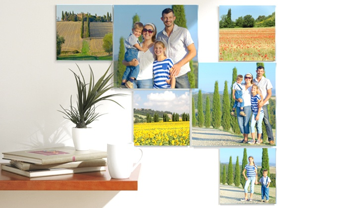 Pixtac: Custom Photos on Acrylic Glass from Pixtac, Single Photos and Collages Available (Up to 88% Off)