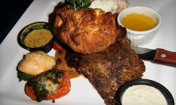 Wigleys Bar and Grill - Townline Hill: $15 for $30 Worth of Upscale Pub Fare and Drink at Wigley's Bar and Grill