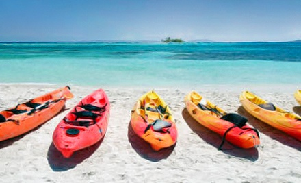 Half-Day Single-Kayak Rental (a $35 value) - Windsong Charters in New Port Richey