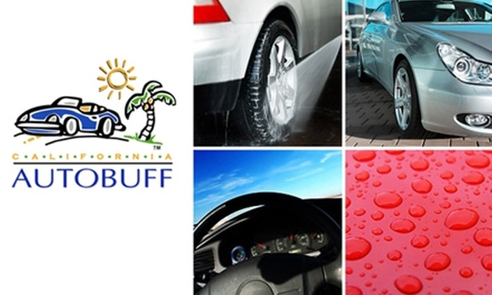 California Autobuff - Garden Hills: Auto Detailing at California Autobuff. Choose from Two Vehicle Options.