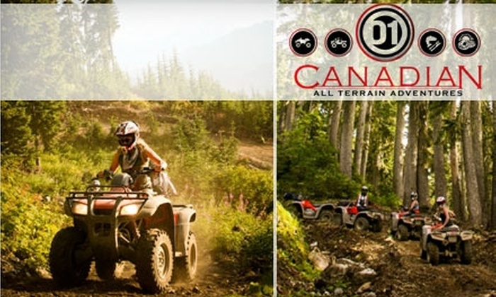 Canadian All Terrain Adventures - Whistler: $67 for an ATV Tour from Canadian All Terrain Adventures