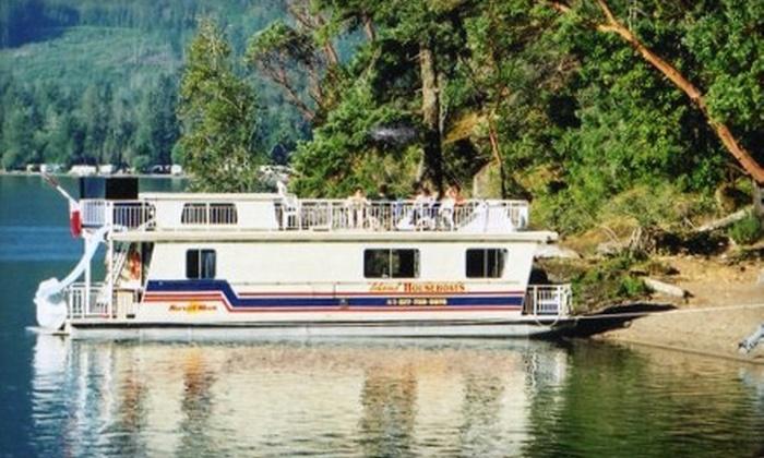 Island Houseboats - Lake Cowichan: $375 for $750 Toward Houseboat Rental at Island Houseboats in Lake Cowichan