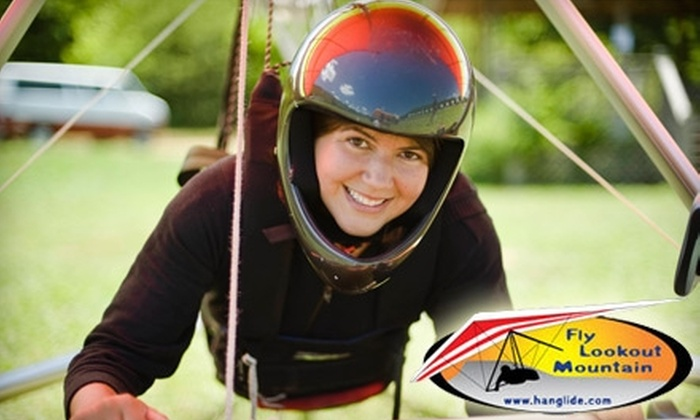 Lookout Mountain Flight Park - Lookout Mountain: $120 for Introductory Hang-Gliding Experience at Lookout Mountain Flight Park ($199 Value)