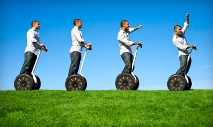 Salem SegGliders - Salem: $35 for a Two-Hour Segway Tour from Salem SegGliders ($77 Value)