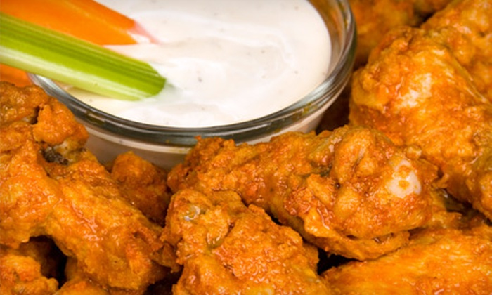 Wingz - Chicago: Buffalo-Wing and Hot-Sandwich Combos for Two, Four, or Six at Wingz in Hillside