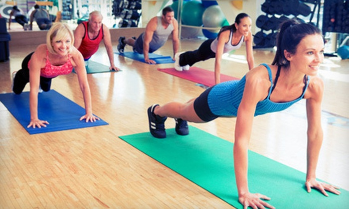 Fit for Life - Multiple Locations: $32 for One-Month Gym Membership with Boot-Camp Classes and Health Assessment at Fit for Life ($347 Value)