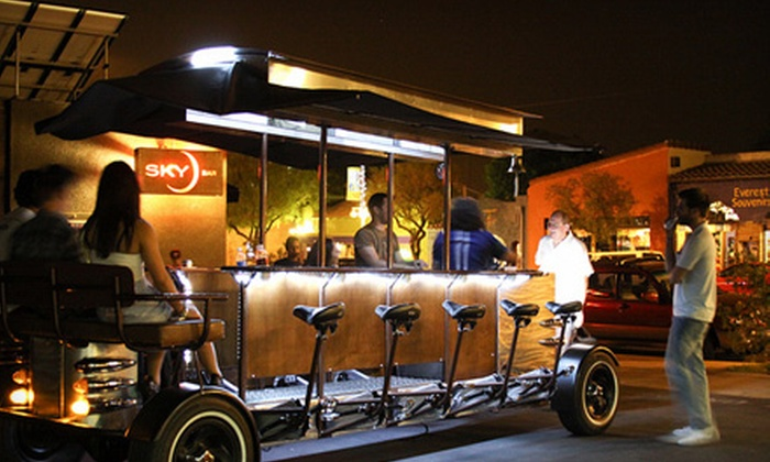 Trolley Pub - Tucson: Two-Hour Pedal-Powered Trolley Tour for Up to Six People from Trolley Pub