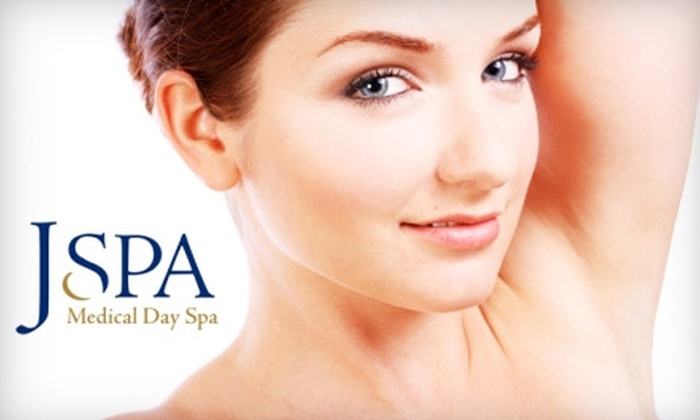 J Spa Medical Day Spa - University Gardens: $150 for Three Laser Hair-Removal Treatments at J Spa Medical Day Spa in Great Neck (Up to $1,000 Value)
