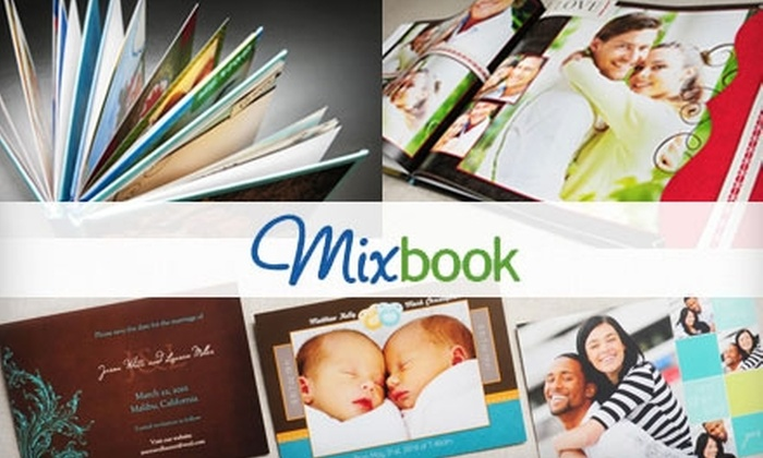 Mixbook - Winnipeg: $15 for $50 Worth of Photo Books, Cards, and More from Mixbook