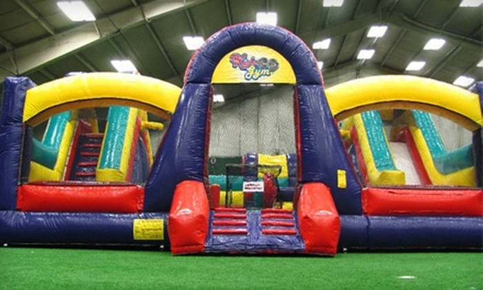 Long Island Sports Complex - Freeport: $190 for Kids' Sports Birthday Party ($385 Value) or $240 for Kids' Inflatable Birthday Party ($485 Value) at Long Island Sports Complex