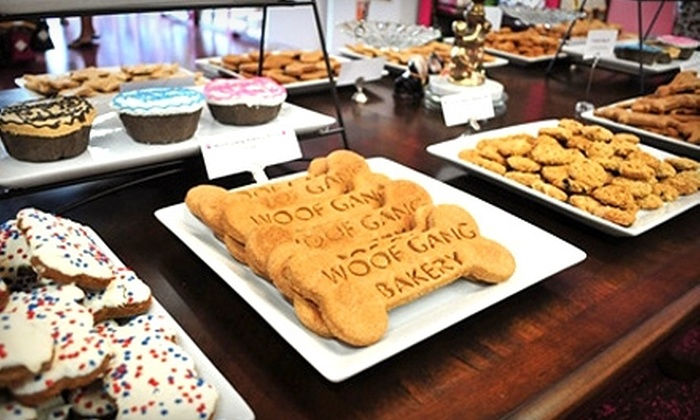 Woof Gang Bakery  - Asheville: $15 for $30 Worth of Dog Treats and Merchandise at Woof Gang Bakery