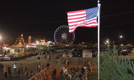 $10 for Two Tickets to The Great Frederick Fair ($16 Value)
