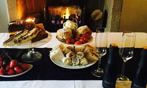 The Griffin: Afternoon Tea with Optional Prosecco for Two or Four at The Griffin Inn(Up to 48% Off)