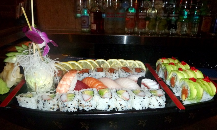 Bamboo 52 - Clinton: $52 for Sushi Meal for Two with Sake at Bamboo 52 ($100 Value)