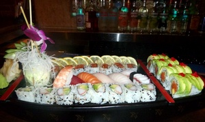 Bamboo 52: $52 for Sushi Meal for Two with Sake at Bamboo 52 ($100 Value)