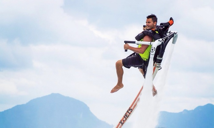 Jetpack America - Multiple Locations: Jetpack-Flight Lesson or Kids Tandem Jetpack Experience for One, Two, or Four at Jetpack America (Up to 67% Off)