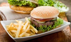Bistro V: Burgers au choix et desserts ou fromage pour 2 ou 4 personnes dès 19,90 € au Bistro V
