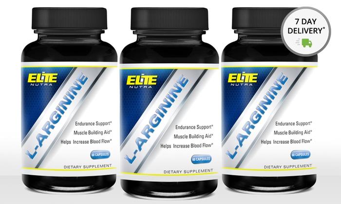 Elite Nutra L-Arginine Supplements: Elite Nutra L-Arginine Supplements
