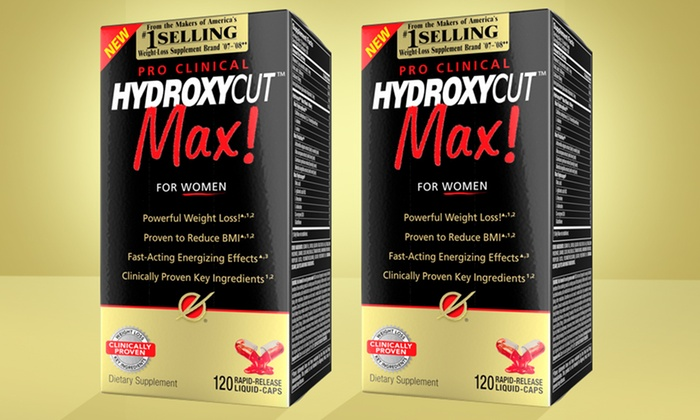 Buy 1 Get 1 Free Hydroxycut Max Supplements For Women Groupon
