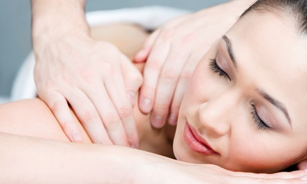 One or Two 60-Minute Massages plus One Optional Chiropractic Exam and Two Adjustments (Up to 80% Off)