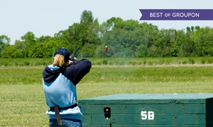 Adventure 001: Clay Pigeon Shooting with Refreshments at Adventure 001 (Up to 50% Off)