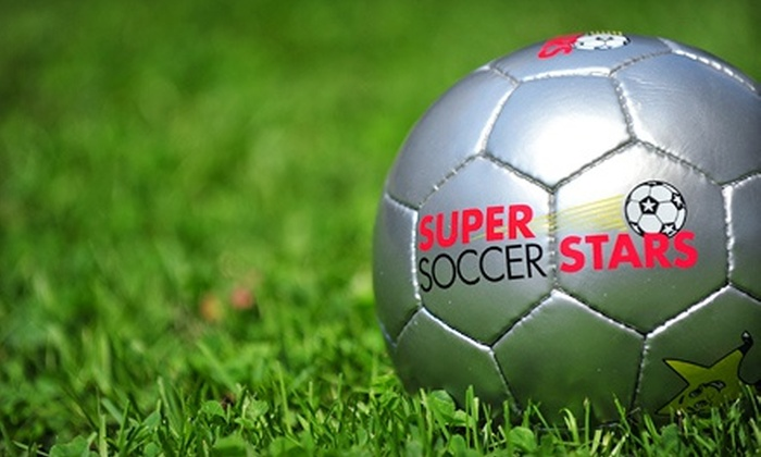 Super Soccer Stars - Multiple Locations: $60 for Drop-In Pass for Three Kids' Soccer Classes at Super Soccer Stars (Up to $125 Value)