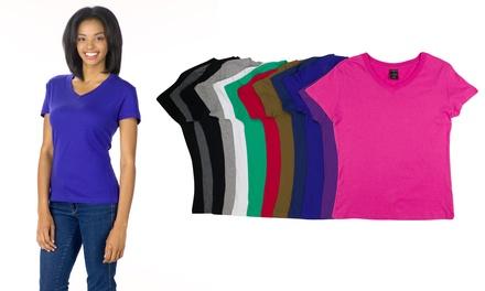 Sociology Women's V-Neck T-Shirts (12-Pack)
