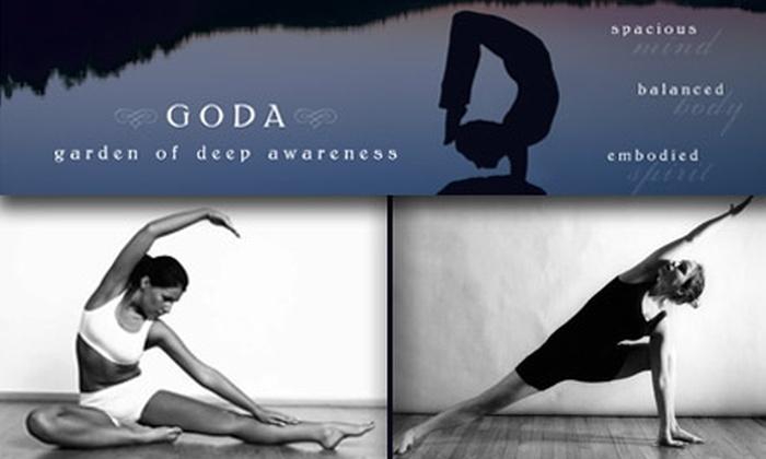 Goda Yoga - Downtown Culver City: $35 for Five Inner-Peace-Bringing Yoga Classes at Goda Yoga