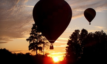 Good for a Sunrise Hot-Air-Balloon Ride, Breakfast, and a Champagne Toast - Orlando Balloon Rides in Kissimmee