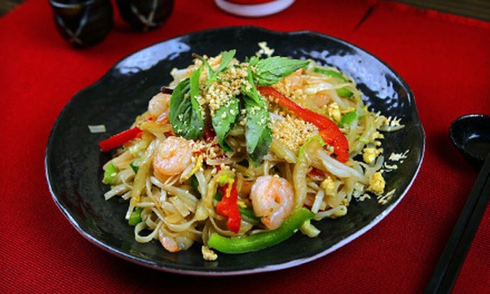 Shanghai Mong - Flatiron,Flatiron District,Garment District,Koreatown,Midtown,Midtown South,Midtown West,Union Square: $23 for a Four-Course Asian-Fusion Prix Fixe Meal for Two at Shanghai Mong (Up to $48.90 Value)